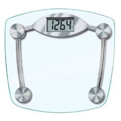 Taylor 7506 Glass and Chrome Digital Scale --- http://www.pinterest.com.luvit.in/73l