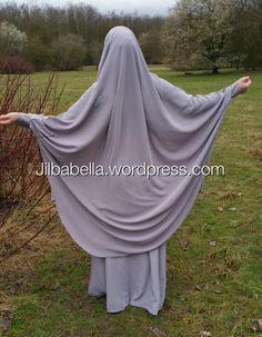 Jilbab al mutamyizah grey