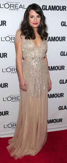 Lea in jenny packham gown #HauteCouture #RedCarpet