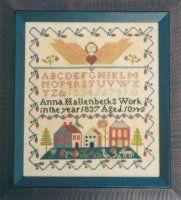 Angel Sampler No 3 by Carriage House Samplings