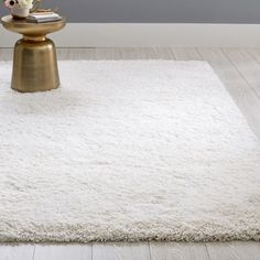 Ultimate Shag Rug | Teen Rug | Pottery Barn Teen White Shag Rug, Grey Rugs, Ivory Rugs, White Rugs, Shag Carpet, Rugs On Carpet, Carpets, Recycled Rugs, Fluffy Rug
