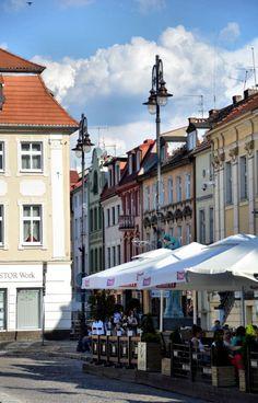 Old Market, Bydgoszcz, Poland