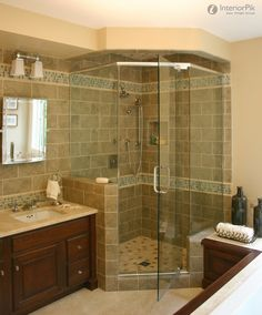 Good Small Bathroom Floor Plans With Corner Shower With Small Bathroom With Corner Shower Ideas