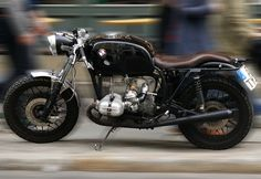 BMW R100, beautiful. I especially like that it doesn't have the ironing board seat or the rear cowl either,