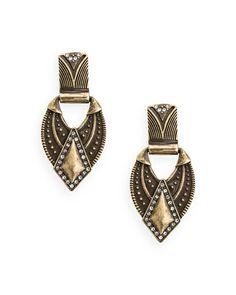 The Tribal Beat Earrings by JewelMint.com, $29.99