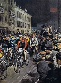 Vintage Bicycles, Past, Cycling, Bike, Spin, Classic, Posters, Graphics, Painting