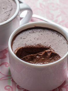 Chocolate Almond Pot au Crème