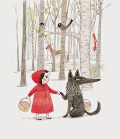 Little Red Riding Hood. Mar Ferrero