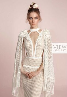 After Party Wedding Dress? lior charchy spring 2017 bridal hanging sleeves deep plunging v neck keyhole full embellishment elegant sexy sheath fit and flare wedding dress zv -- Lior Charchy Spring 2017 Wedding Dresses Spring 2017 Wedding Dresses, Dream Wedding Dresses, Bridal Dresses, Wedding Gowns, Spring Wedding, Wedding Mandap, Wedding Stage, Wedding Receptions, Party Wedding
