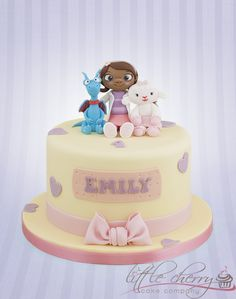 Doc McStuffins - With Lambie and Stuffy x