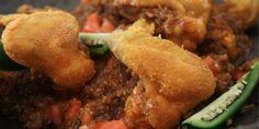 Ethiopian fried chicken wings