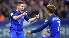 J'adore jouer avec lui c'est naturel entre nous Entre Griezmann et Gameiro c'est l'amour foot - Eurosport.fr