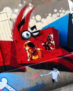 Street art in Paris. #streetart #streearteverywhere #graffiti #graffitiparis #urbanartparis #urbanwalls#urbanart#instagraffiti#instagraff#wallart#graffitiart#graffitiporn#thisisstreetart#streetartphoto#streetartistry#streetartist#streetartphotography #wallartparis #graffitiphotographer#streetartParis #globalstreetart #rsa_graffiti #tv_streetart #streetart_daily #instastreetart #streetart_official #isupportstreetart #artderue #talkingwalls #muralfestival