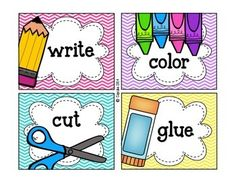 PICTURE DIRECTIONS {FREEBIE} - TeachersPayTeachers.com