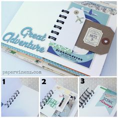 PaperVine: Travel Girl Journal (October Afternoon)