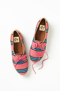 Fun Prints on Oxfords.