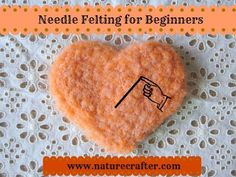 A great site to learn how to needle felt with tutorials. Save for later. #needlefeltingtutorials #needlefelted