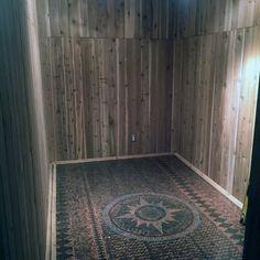 Top 60 Best Penny Floor Design Ideas - Copper Coin Flooring