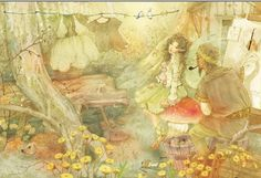January 2013 Exhibit: Children's book illustrations by Cher Jiang