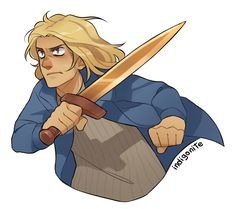indigonite: If I'm excited about Magnus Chase? what? noo *hides pile of Magnus Chase's drawings under the bed* what are you talking about of course not wHY would I be