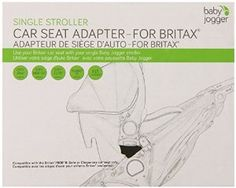 Baby Jogger Britax B-Safe Single Car Seat Adapter -   - http://babyentry.com/baby/car-seats-accessories/accessories/baby-jogger-britax-bsafe-single-car-seat-adapter-com/
