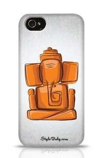 Lord Ganesha Apple iPhone 4 Phone Case