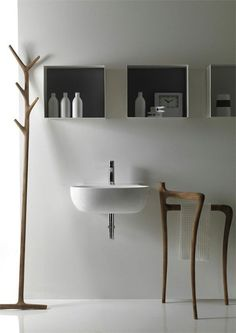TOWEL RACK!!!!   Creative Washbasin - 70 Creative Bathroom Sinks  <3 <3