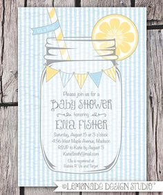 Hey, I found this really awesome Etsy listing at https://www.etsy.com/listing/103789767/mason-jar-and-seersucker-invitation
