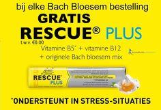 Gratis Rescue Bonbons bij elke Bach Bloesem Bestelling. Bestel vandaag nog want op=op.Foto http://www.gezondheidswebwinkel.nl/