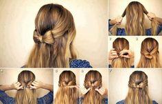 Modèle de coiffure facile