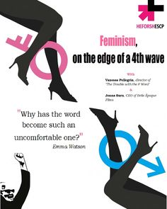"""Proudly moderating the lecture about """"Feminism, on the edge of a wave"""" at ESCP Europe London on Febr. with Vanessa Pellegrin, director of We'll give some insight on our job as sales agent on the film! Join us on the to learn more 😉👌 Sales Agent, Emma Watson, Feminism, Insight, Films, Join, Waves, Europe, London"""