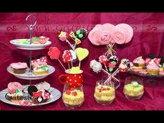 Candy Bar pentru Petrecere de Fetita - YouTube