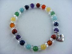 Chakra Armband von leskow-stein auf DaWanda.com