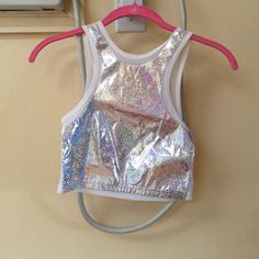 Unif plur crop Absolutely lust this top. Although it still hasn't been worn so I figure I should put it up for all you ravers that might get more use out of it. As seen on Katy Perry! UNIF Tops