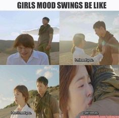 K-pop fans K-Drama lovers U will surely like it 😉 Kdrama Memes, Funny Kpop Memes, Movie Memes, Korean Drama Funny, Korean Drama Quotes, K Drama, Drama Fever, Song Joon Ki, Descendents Of The Sun