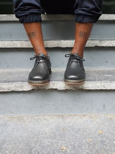 The Cavendish 3-Eye shoe from the new #DMsLITE range. Worn by Cle Gyimah.