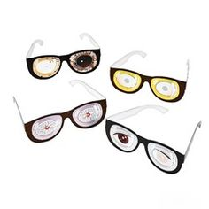 Zombie Glasses (12 Pack)