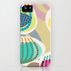 Dashed Blossoms iPhone Case