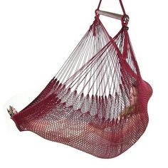 *Please note a stand is not included with this hammock chair. Features of the Sunnydaze Hanging Caribbean XL Hammock Chair: - Hammock Chair Size: x x H; Hammock Tent, Spreader Bar, Camping Needs, Outdoor Furniture, Outdoor Decor, Hanging Chair, Hardwood, Red, Bags