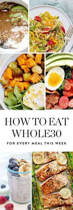 How to Eat Whole30 for Every Meal This Week via @PureWow