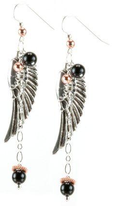 Jewelry Making Idea: Angel Earrings