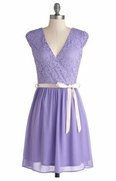 Champagne at Midnight Dress in Lavender  theres no way i'd ever be able to rock this but its SO PRETTY