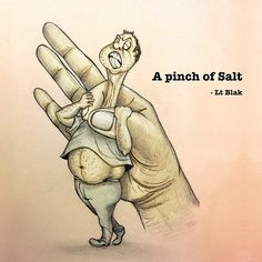 A pinch of Salt on Behance