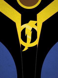 Minimalist static 2 by topper-xt on DeviantArt … Black Cartoon Characters, Dc Characters, Gi Joe, Cinema Art, Broly Movie, Static Shock, Black Artwork, Black Lightning, 90s Cartoons