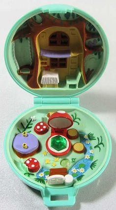 Polly Pocket Jeweled Forest. I had this and it was one of my all time favorite toys.