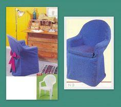 Cadeira de Plástico Reciclada                                                                                                                                                                                 Mais
