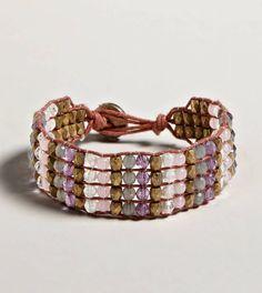 AEO Beaded Bracelet.  Oh my gosh love!