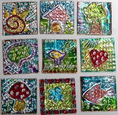Kids - Metal & Aluminum Crafts on Pinterest   Tin Art, Illuminated ...