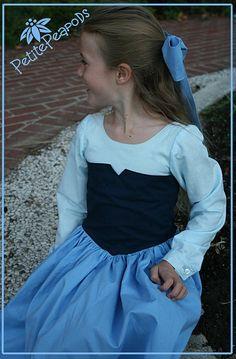 Little Mermaid Blue Dress by petitepeapods