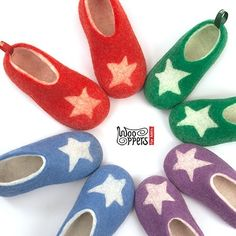 Stars on their feet! ⛤⛤⛤⛤⛤⛤⛤wooppers woolen slippers for kids